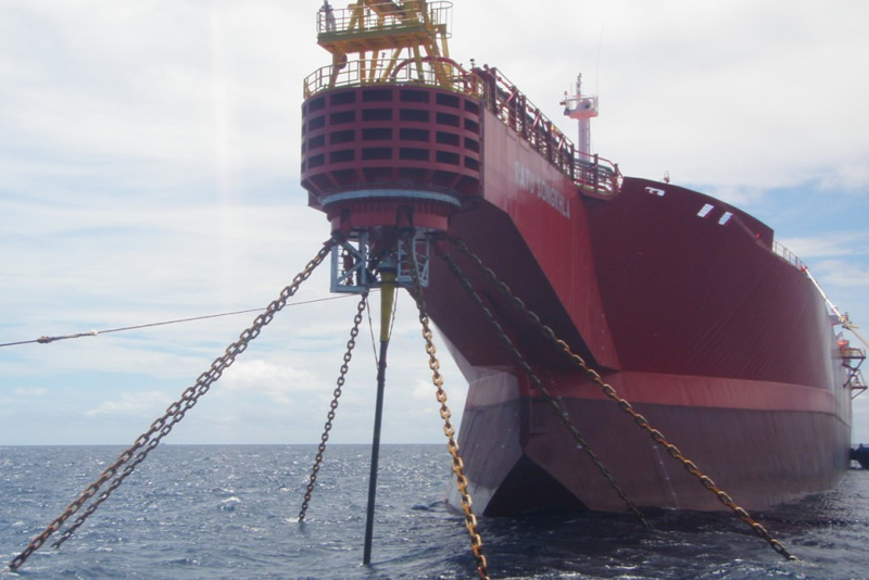 Tensioning Up of FSO Mooring