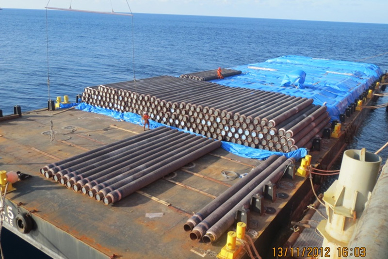 Pipe Haul Barge <br>