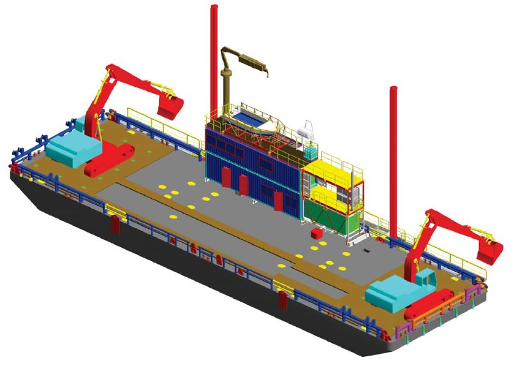 Utility Barge and Multicat Support Tug | Offshore