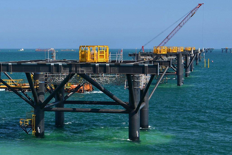 Gorgon Project - Barrow Island LNG Jetty And Marine Structure
