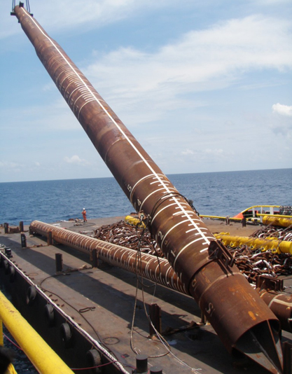 Mooring Pipe Upending